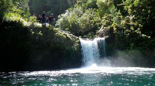Canyoning-Rivière Langevin, Saint-Joseph-Canyon du Grain Galet, Rivière Langevin à La Réunion-7