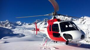 Helicopter tours-Franz Josef Glacier-Mount Cook scenic heli flight with glacier landing-3