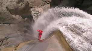 Canyoning-Cirque de Cilaos-Bras Rouge canyon in Cirque of Cilaos, Reunion-10