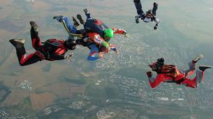 Skydiving-Prague-Tandem skydive over Prague-5