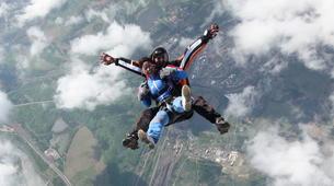 Skydiving-Prague-Tandem skydive over Prague-2