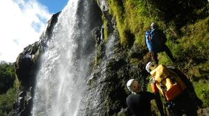 Canyoning-Sainte-Suzanne River-Sainte Suzanne canyon in Reunion Island-1