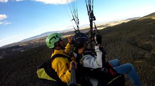 Parapente-Murcie-Tandem paragliding flight near Murcia-6