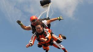 Skydiving-Prague-Tandem skydive over Prague-4
