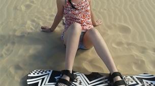 Sandboard-Oyster Bay-Session Sandboard à Oyster Bay, Afrique du Sud-6