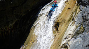Canyoning-Cirque de Cilaos-Bras Rouge canyon in Cirque of Cilaos, Reunion-8