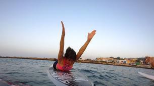 Stand up Paddle-Malta-SUP and yoga training in Ghadira Bay, Malta-6