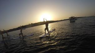 Stand up Paddle-Malta-SUP and yoga training in Ghadira Bay, Malta-5