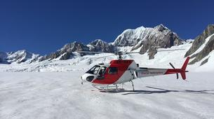 Helicopter tours-Franz Josef Glacier-Mount Cook scenic heli flight with glacier landing-2