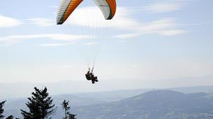 Paragliding-Murcie-Tandem paragliding flight near Murcia-3