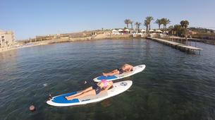 Stand up Paddle-Malta-SUP and yoga training in Ghadira Bay, Malta-1