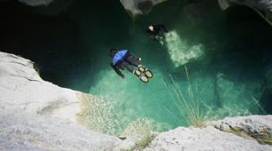 Canyoning-Jura-Gorges de Malvaux aquatic canyoning in Jura region-4