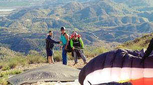 Parapente-Murcie-Tandem paragliding flight near Murcia-5