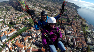 Paragliding-Funchal-Tandem paragliding in Funchal, Madeira-2