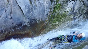 Canyoning-Annecy-Canyon de Montmin, près d'Annecy-4