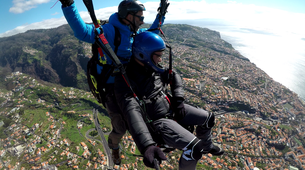 Paragliding-Funchal-Tandem paragliding in Funchal, Madeira-3