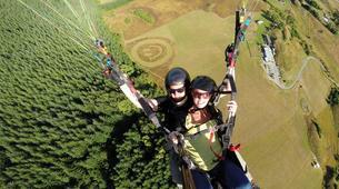 Paragliding-Queenstown-Tandem paragliding flight over Queenstown-1