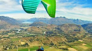 Paragliding-Queenstown-Tandem paragliding flight over Queenstown-3