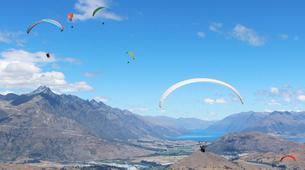 Paragliding-Queenstown-Tandem paragliding flight over Queenstown-2