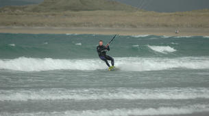 Kitesurfing-Donegal-Beginner kitesurfing course on Murvagh Beach, Donegal-3