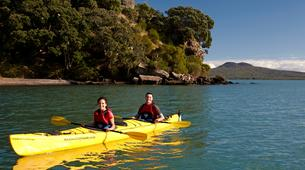 Sea Kayaking-Auckland-Kayaking excursion to Browns Island, Auckland-2