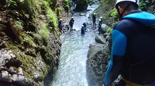 Canyoning-Annecy-Canyon de Montmin, près d'Annecy-7