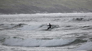 Kitesurfing-Donegal-Beginner kitesurfing course on Murvagh Beach, Donegal-6