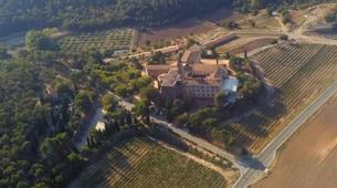 Paragliding-Province of Lleida-Tandem paragliding flight over Àger, Lérida-10