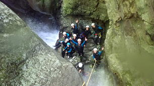 Canyoning-Annecy-Canyon de Montmin, près d'Annecy-6