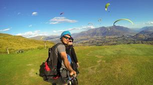 Paragliding-Queenstown-Tandem paragliding flight over Queenstown-5