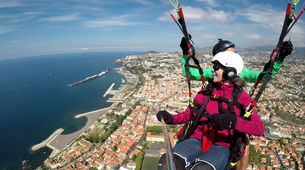 Paragliding-Funchal-Tandem paragliding in Funchal, Madeira-1