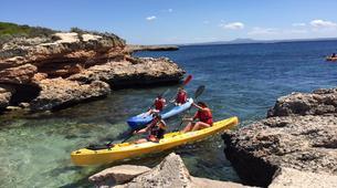 Sea Kayaking-Mallorca-Kayaking, Snorkelling & Coasteering excursion in Illetes, Mallorca-1