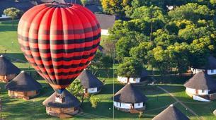 Hot Air Ballooning-Johannesburg-Hot air balloon flight near Johannesburg-2