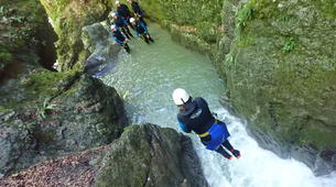 Canyoning-Annecy-Canyon de Montmin, près d'Annecy-1