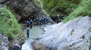 Canyoning-Annecy-Canyon de Montmin, près d'Annecy-8