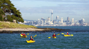 Sea Kayaking-Auckland-Kayaking excursion to Browns Island, Auckland-4
