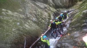 Canyoning-Castelnuovo di Garfagnana-Rio Selvano canyon near Florence-3