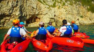 Kayaking-Dénia-Kayaking excursion in Les Rotes, Denia-4