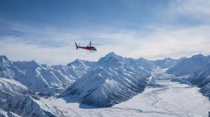 Helicoptère-Glacier Fox-Fox Glacier heli flight to Mount Cook-3