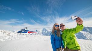 Helicopter tours-Aoraki / Mount Cook-Alpine Explorer heli tour from Glentanner-1