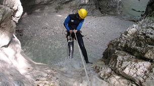 Canyoning-Bovec-Fratarica canyon near Bovec, Slovenia-3