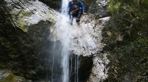 Canyoning-Bovec-Fratarica canyon near Bovec, Slovenia-6