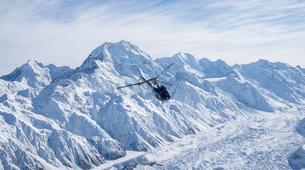 Helicopter tours-Aoraki / Mount Cook-Alpine Explorer heli tour from Glentanner-4