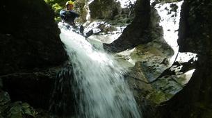 Canyoning-Bovec-Fratarica canyon near Bovec, Slovenia-5