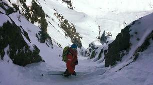 Backcountry Skiing-Chamonix Mont-Blanc-Backcountry steep skiing day trip in Chamonix-1