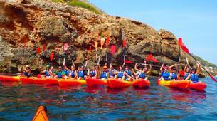 Kayaking-Dénia-Kayaking excursion in Les Rotes, Denia-3