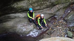Canyoning-Castelnuovo di Garfagnana-Rio Selvano canyon near Florence-5