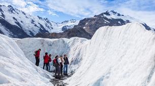 Helicopter tours-Aoraki / Mount Cook-Tasman Glacier heli hiking excursion-1