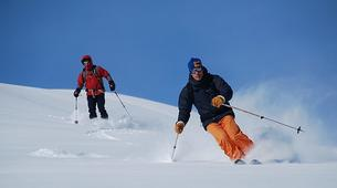 Ski Hors-piste-Chamonix Mont-Blanc-Descente de la Vallée Blanche à Ski, Chamonix-3