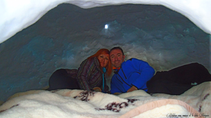 Snowshoeing-Ariege-Snowshoeing trip and night in an igloo in Monts d'Olmes, Ariège-6